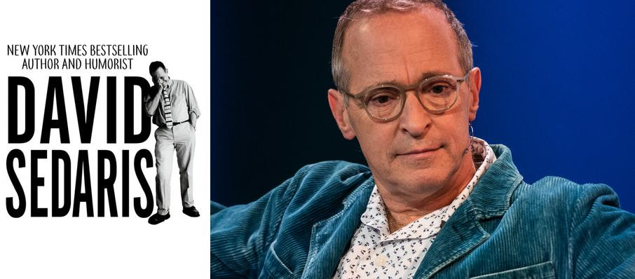 David Sedaris at Pikes Peak Center