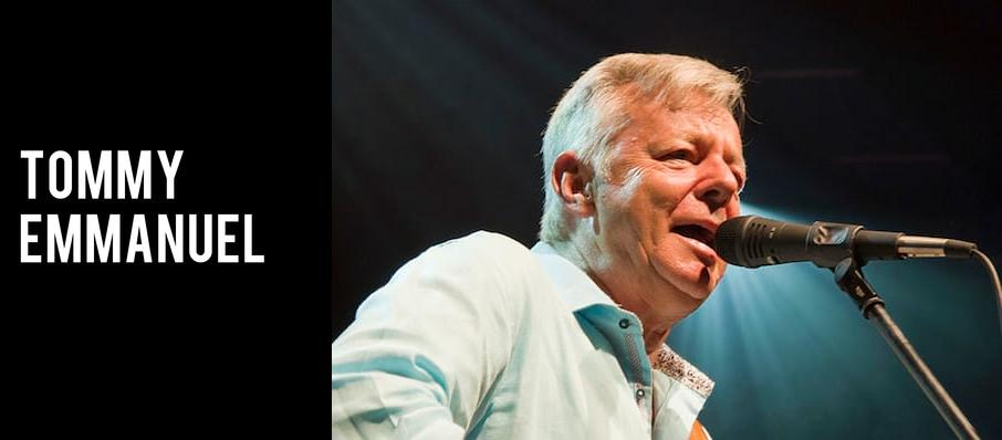 Tommy Emmanuel at Pikes Peak Center
