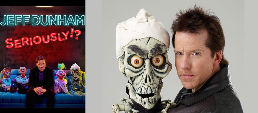 Jeff Dunham at World Arena