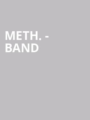 Meth. - Band at Black Sheep
