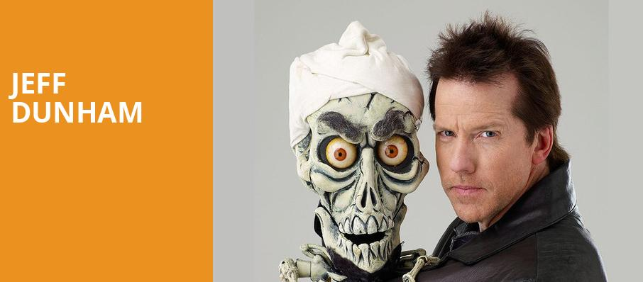 Jeff Dunham, World Arena, Colorado Springs